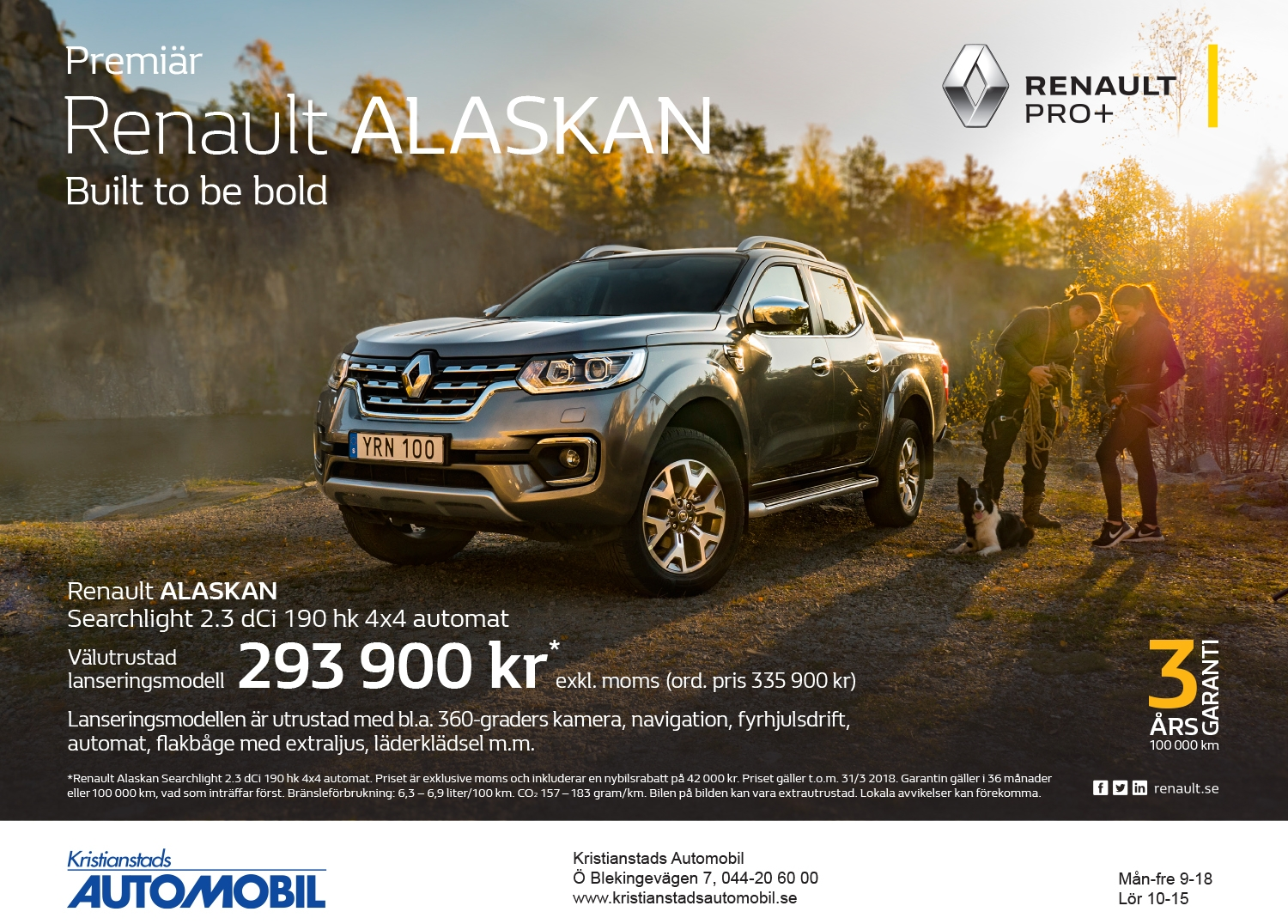 Renault ALASKAN - Built to be bold