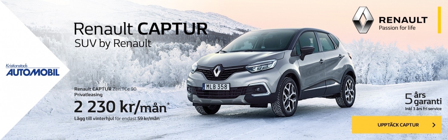 Renault CAPTUR SUV by Renault